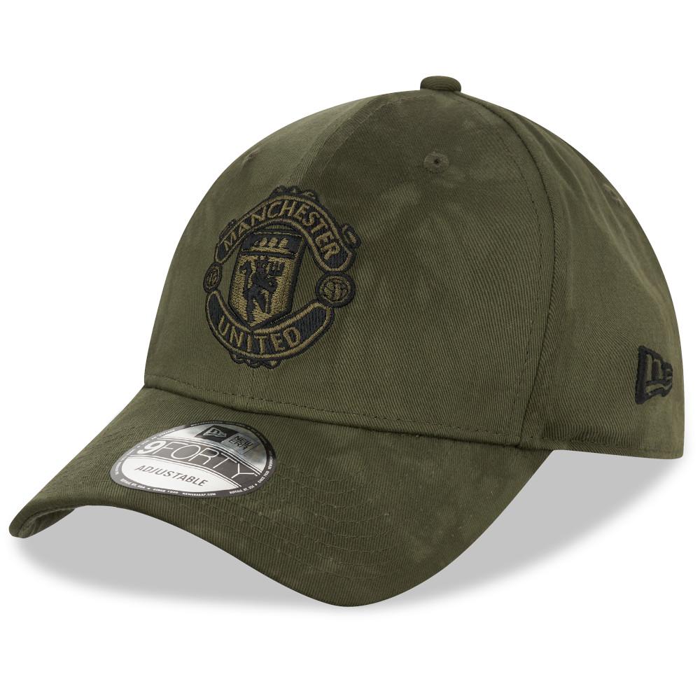 Cappellino Manchester United Basic 9FORTY verde