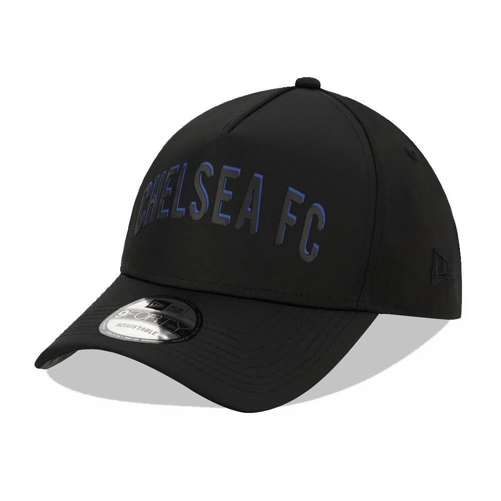 9FORTY – Chelsea FC – Kappe in Schwarz mit Schriftzug