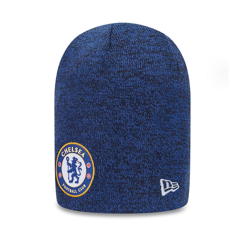 Berretto di maglia Skull Chelsea FC Reversible blu