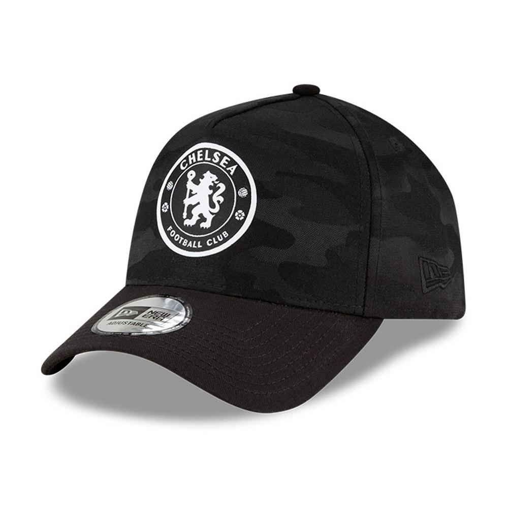 Cappellino Chelsea FC Camo 9FORTY nero