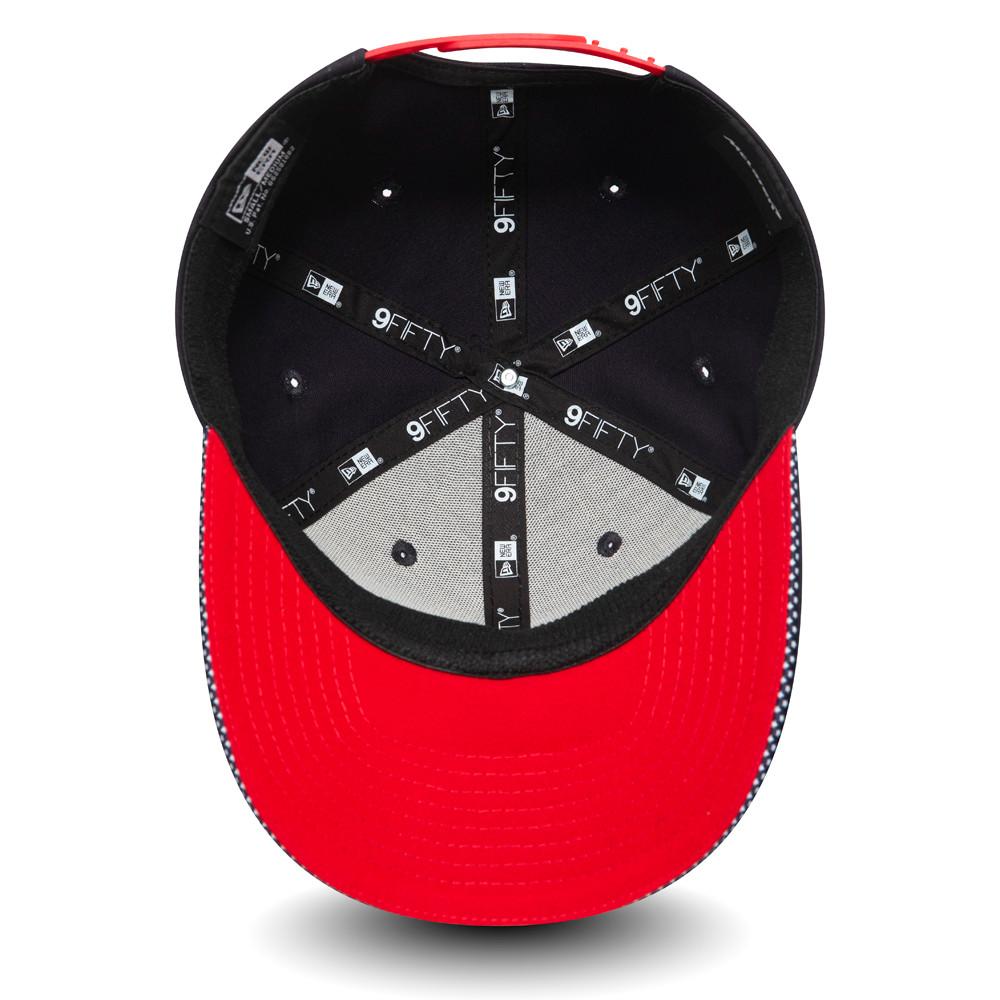 9FIFTY – McLaren – USA – Stretch-Kappe in Marineblau mit Clipverschluss