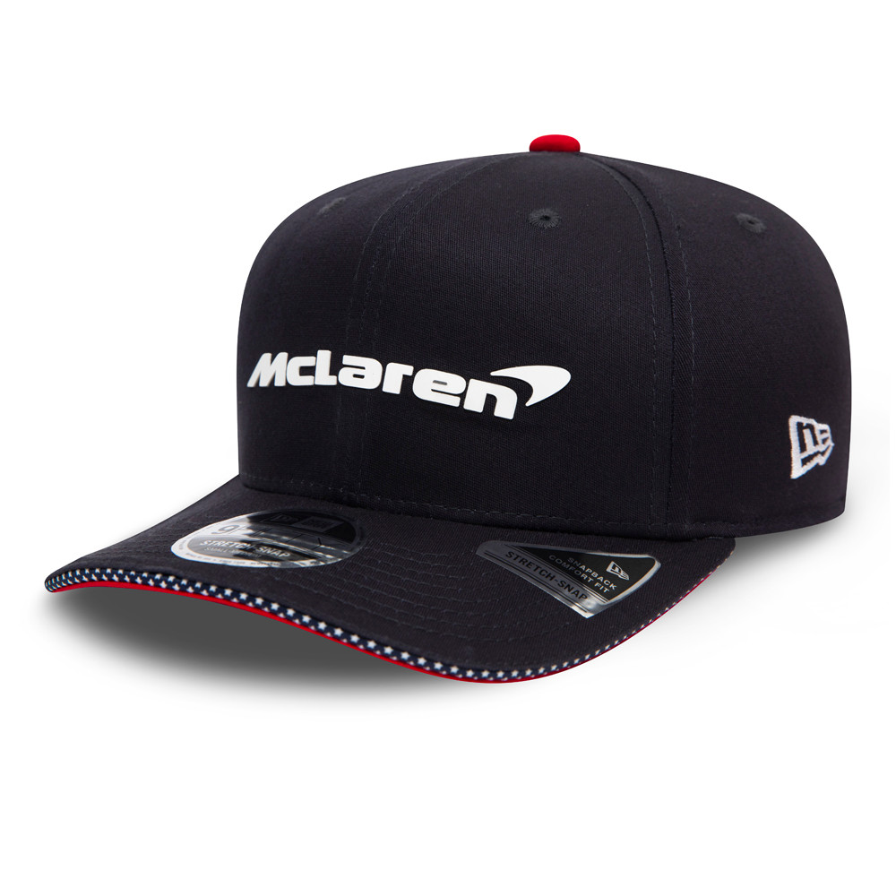Cappellino McLaren USA Stretch Snap 9FIFTY blu navy