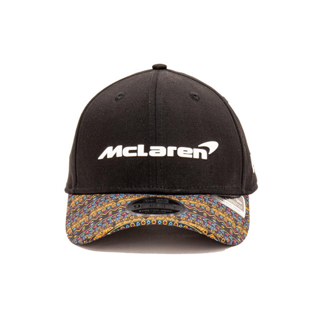 9FIFTY– McLaren– Mexico – Stretch-Kappe in Schwarz mit Clipverschluss
