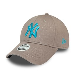 Cappellino 9FORTY dei New York Yankees in jersey grigio donna