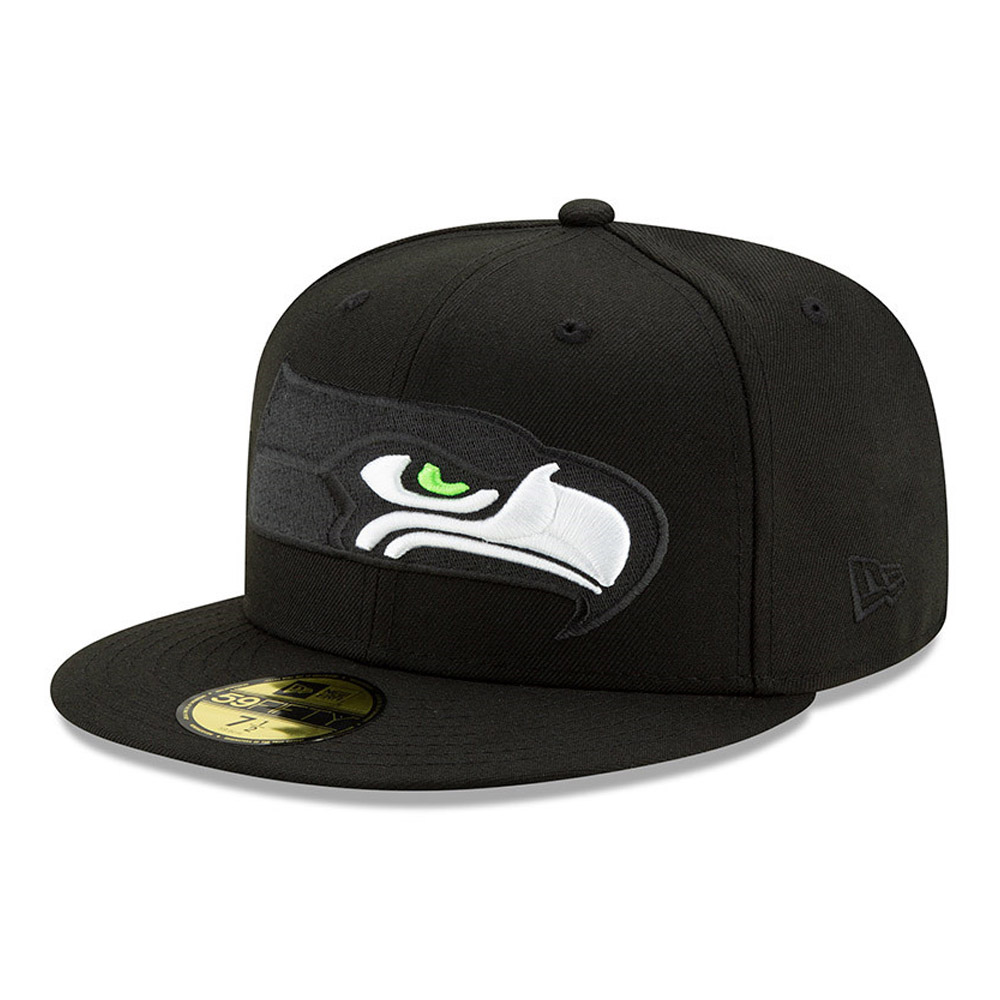 Gorra Seattle Seahawks Elements 2.0 59FIFTY, negro