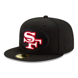 San Francisco 49ERS Elements 2.0 Black 59FIFTY Cap