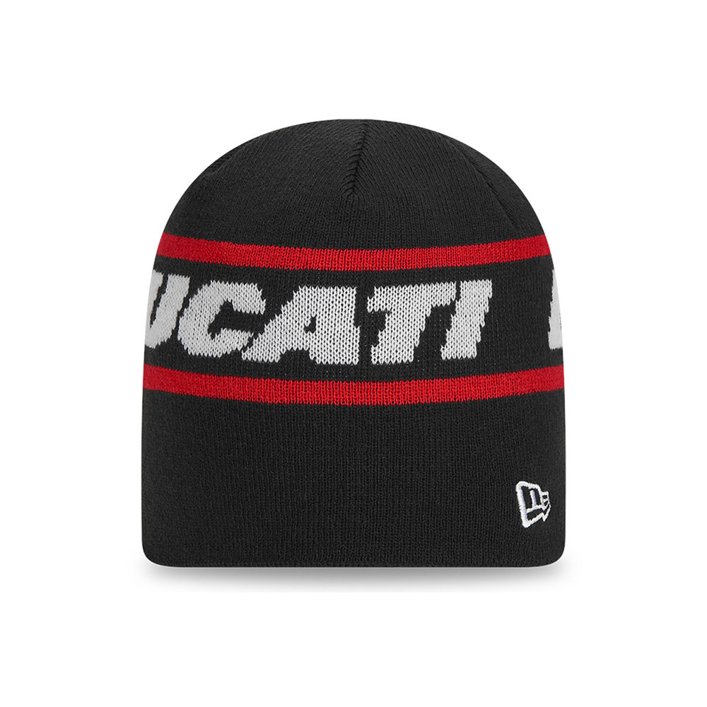 Ducati Badge Knit Beanie Black New Era