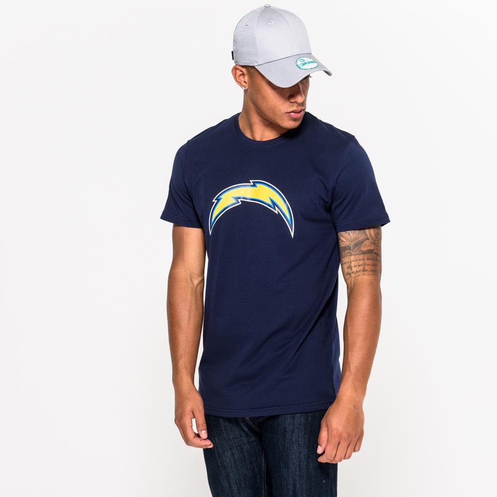 Los Angeles Chargers Team – Marineblaues T-Shirt mit Logo