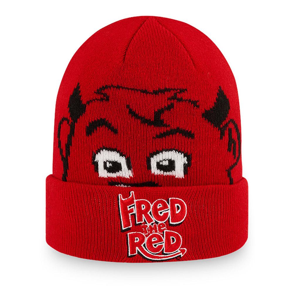 Gorro de punto con vuelta Manchester United Fred The Red, niño