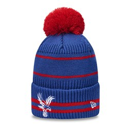 Crystal Palace – Jake – Bommel – Beanie in Blau