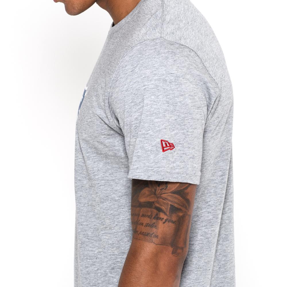 T-shirt logo NFL gris