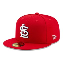 St Louis Cardinals On Field Red 59FIFTY Cap