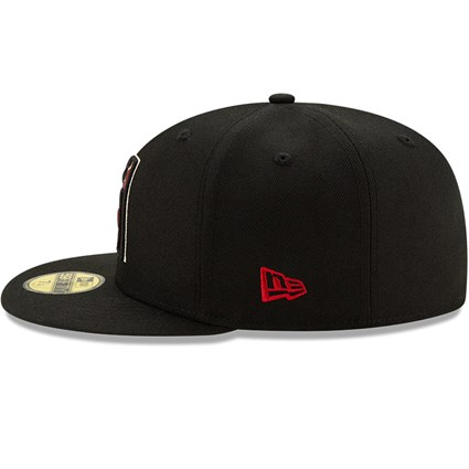 Arizona Diamondbacks On Field Black 59FIFTY Cap