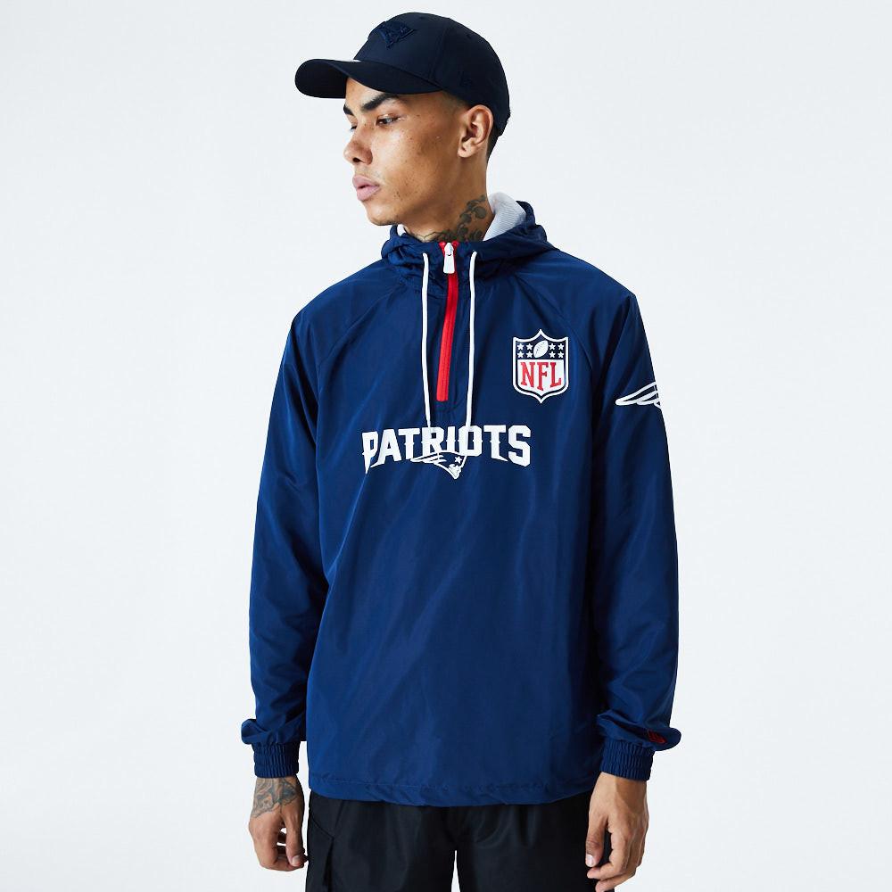 Coupe-vent New England Patriots, bleu
