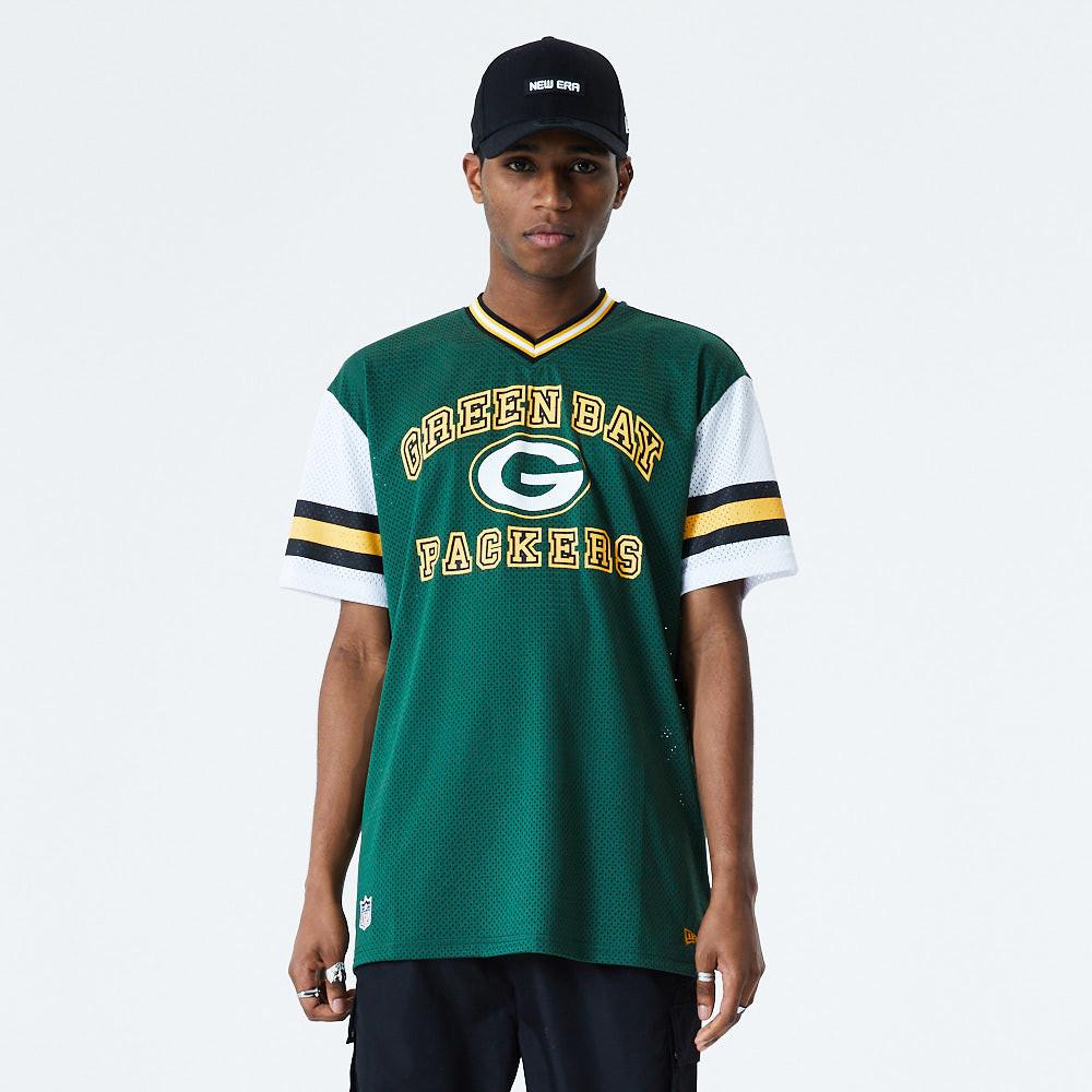 T-shirt oversized Stripe Sleeve Green Bay Packers, vert