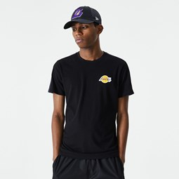 LA Lakers Ripstop Overlay Black T-Shirt