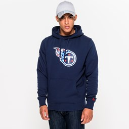 Tennessee Titans Team Logo Navy Pullover Hoodie