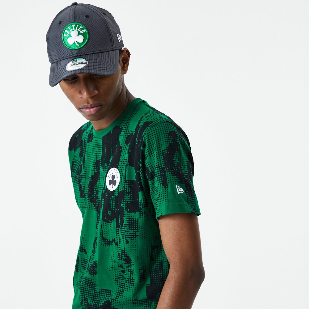 T-shirt vert Error Print des Celtics de Boston