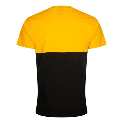 Los Angeles Lakers Colour Block Black T-Shirt