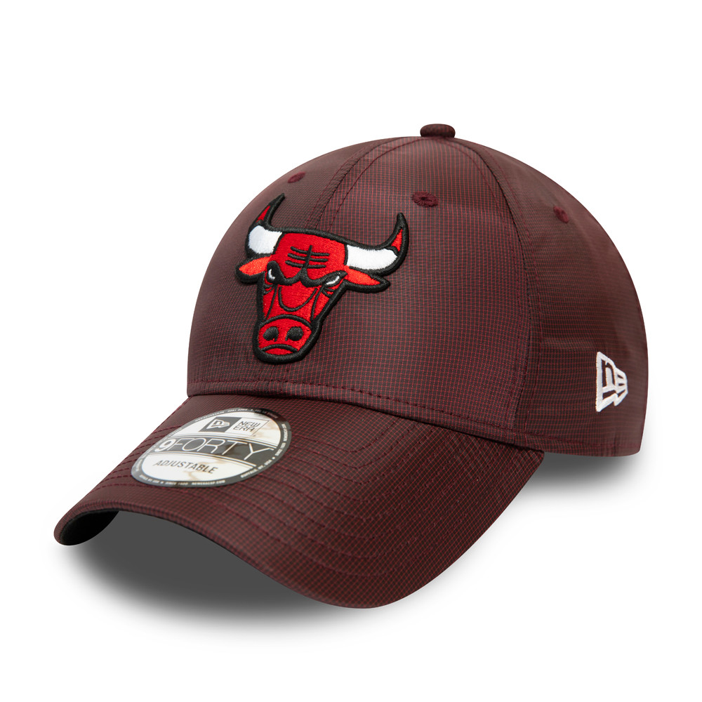 9FORTY – Chicago Bulls – Team-Kappe aus Ripstop in Kastanienbraun