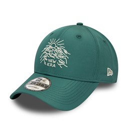 Casquette New Era 9FORTY Outdoors, vert