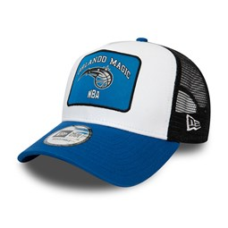Orlando Magic Graphic Patch White A-Frame Trucker