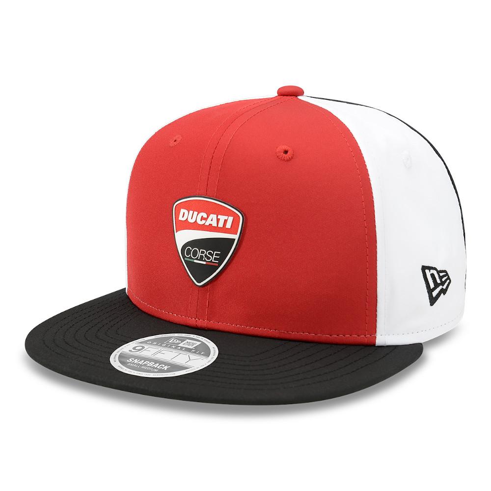 Gorra Ducati Motor Logo 9FIFTY, rojo