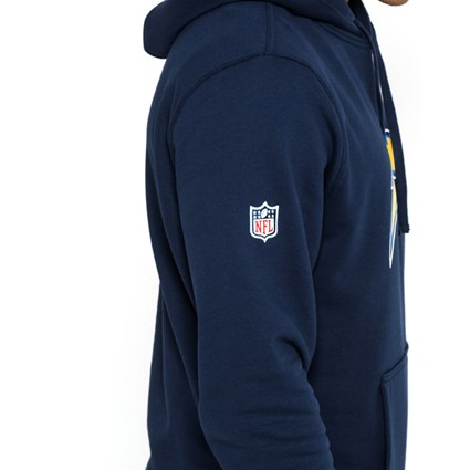 Los Angeles Chargers Team Logo Navy Pullover Hoodie
