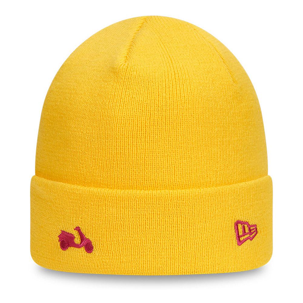 Vespa Yellow Cuff Knit