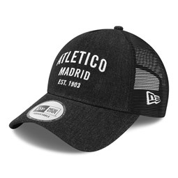 Atletico Madrid Denim Black A-Frame Trucker
