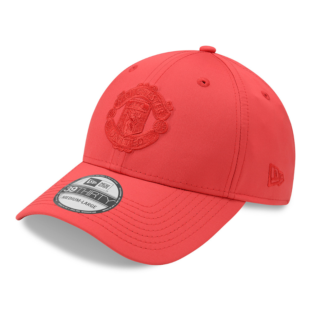 Casquette 39THIRTY Poly Manchester United, rouge