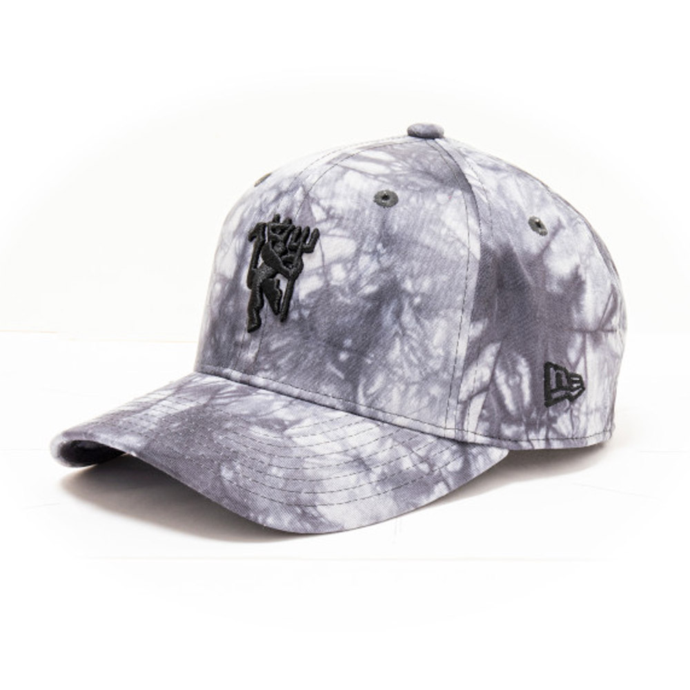 Cappellino Manchester United Tie Dye Stretch Snap 9FIFTY bianco