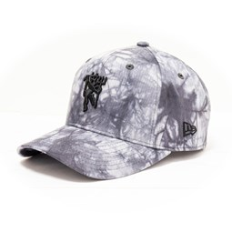 Gorra Manchester United Tie Dye Stretch Snap 9FIFTY, blanco