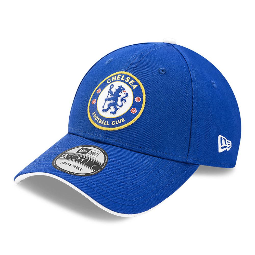 Casquette 9FORTY Chelsea FC Crest bleue
