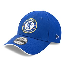 Cappellino Chelsea FC Crest 9FORTY blu