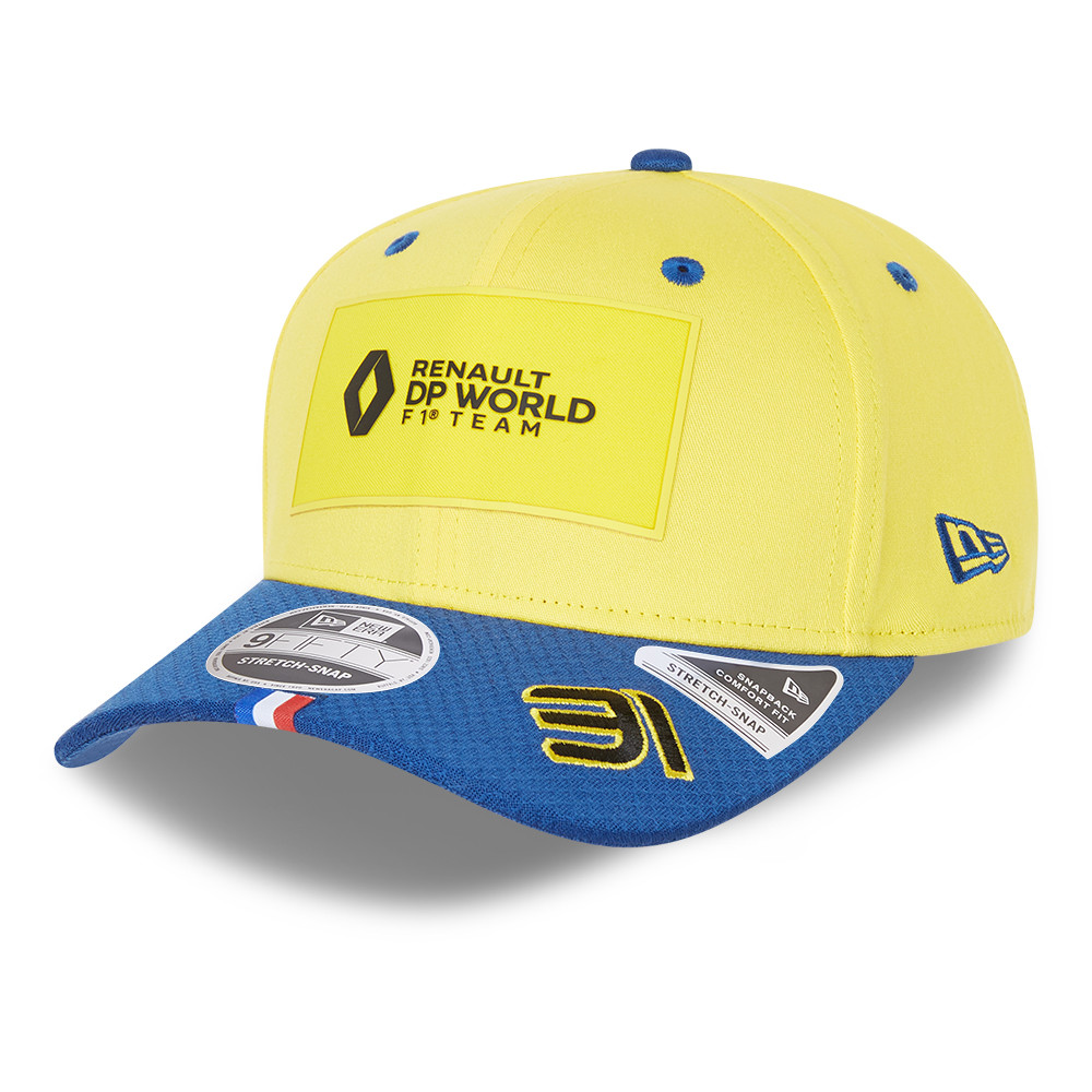 Cappellino Renault Esteban Ocon 31 Stretch Snap 9FIFTY blu