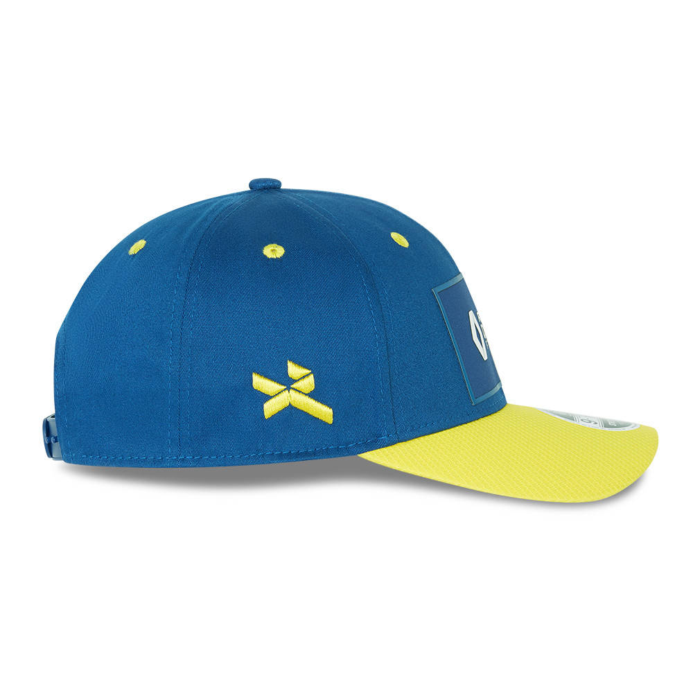 Gorra Renault Team Daniel Ricciardo 03 Stretch Snap 9FIFTY, amarillo