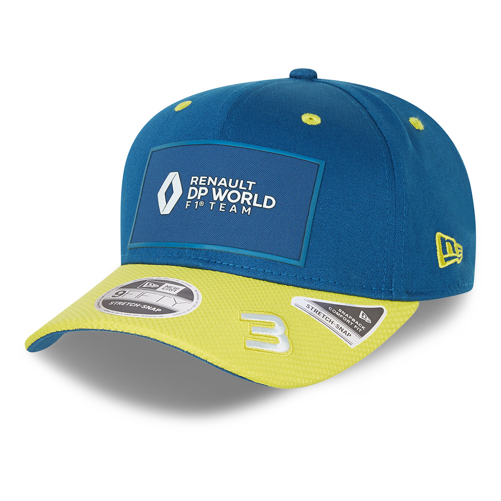 Cappellino Renault Team Daniel Ricciardo 03 Stretch Snap 9FIFTY giallo