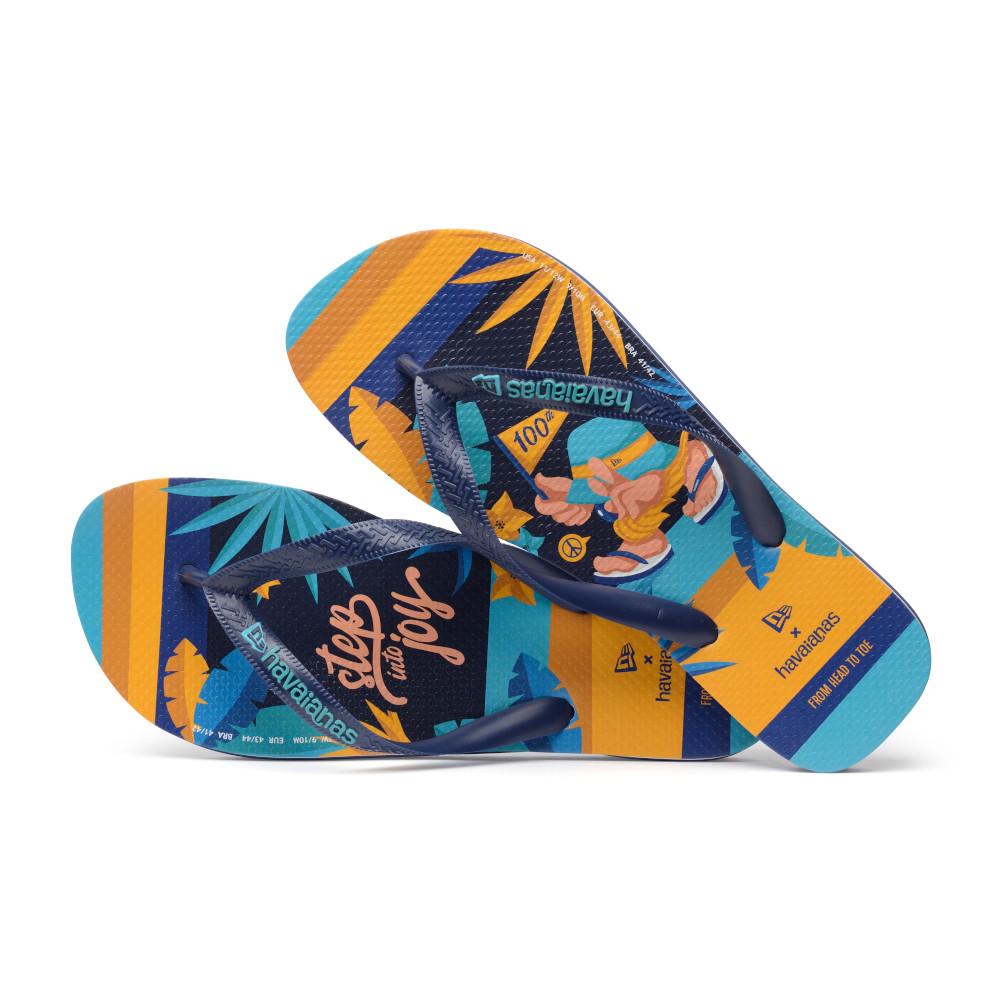 TongsNew Era X Havaianas bleues