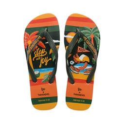 New Era X Havaianas – Flip Flops in Orange