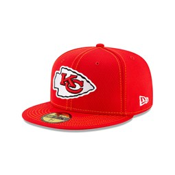 Kansas City Chiefs Sideline Red 59FIFTY Cap
