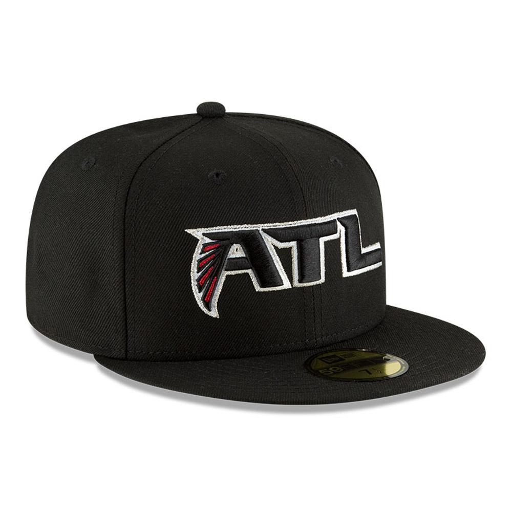 Casquette Atlanta Falcons 59FIFTY, noir