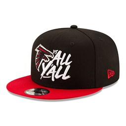 9FIFTY – Atlanta Falcons – Kappe in Schwarz