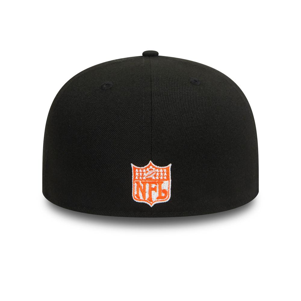 Casquette Denver Broncos 59FIFTY, noir