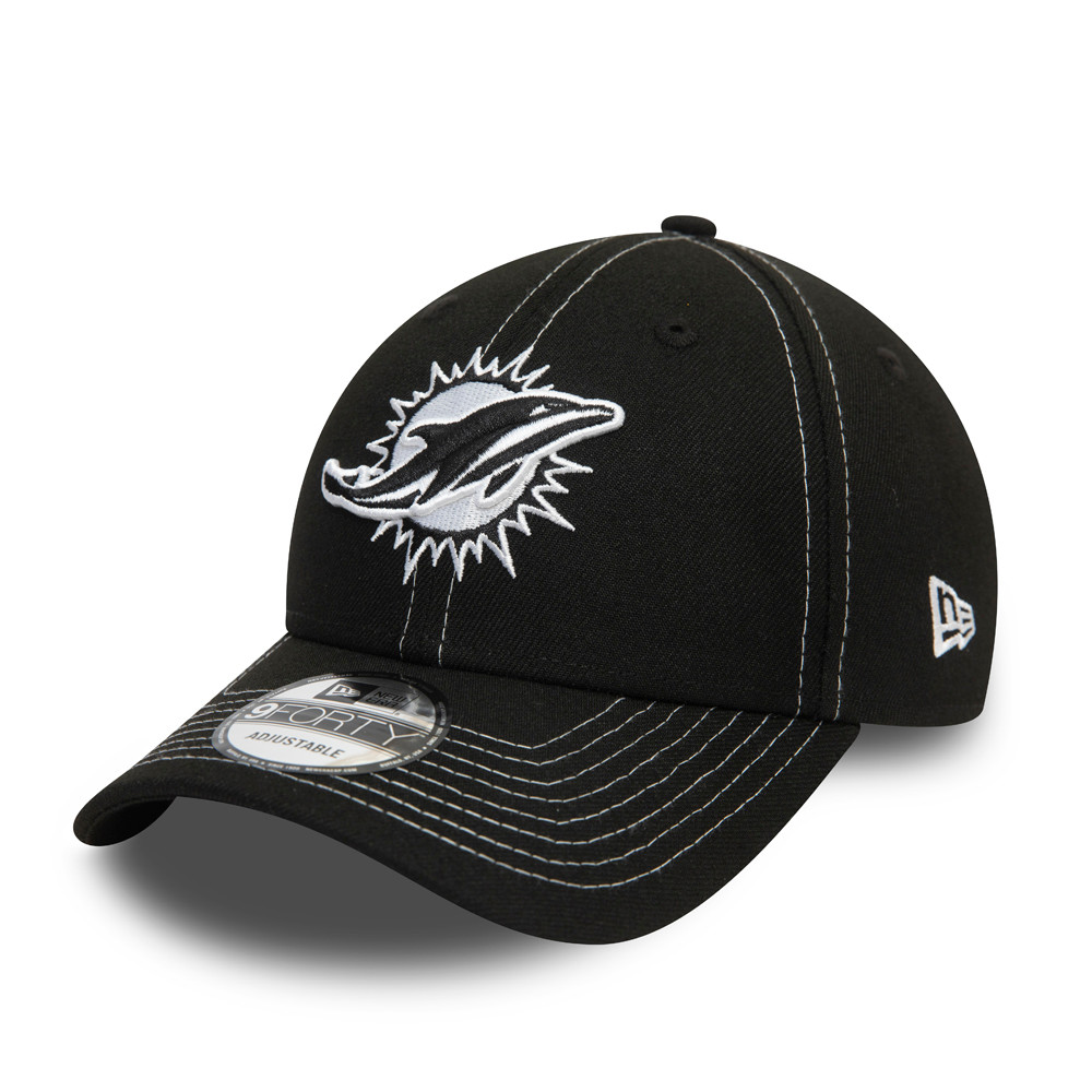 Miami Dolphins Black 9FORTY Cap