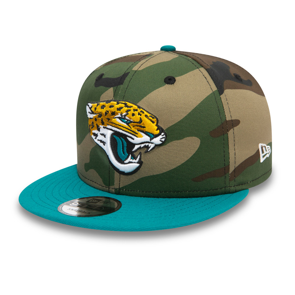 Casquette Jacksonville Jaguars 9FIFTY, vert