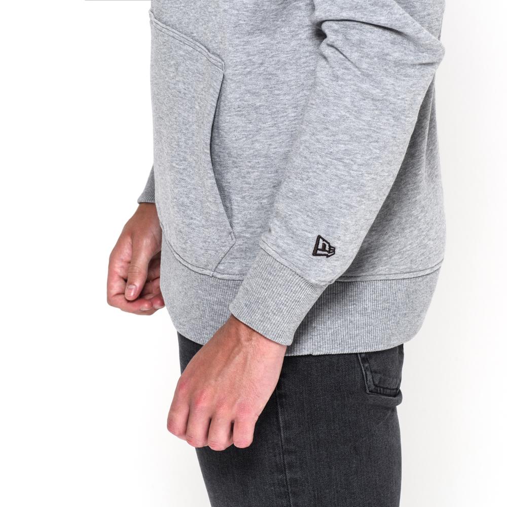 cleveland browns team logo grey pullover hoodie new era. Black Bedroom Furniture Sets. Home Design Ideas