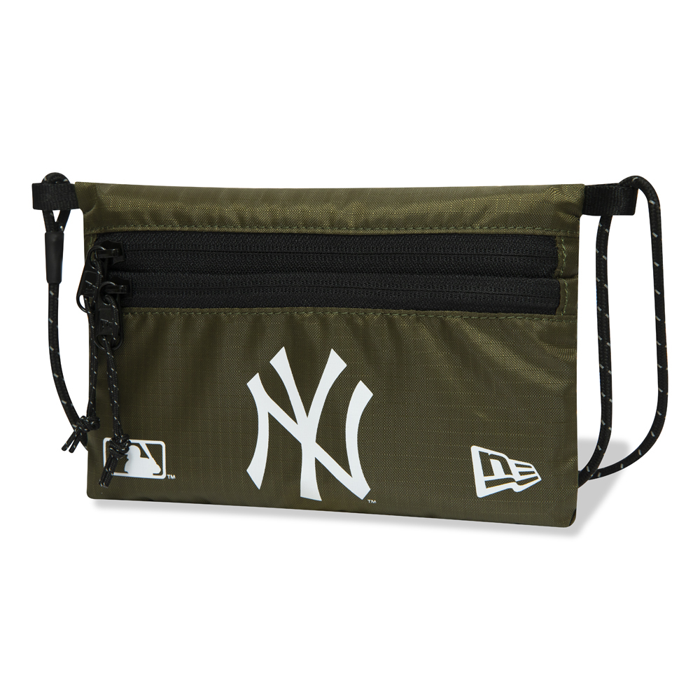 New York Yankees – Mini-Sacoche-Schultertasche in Grün