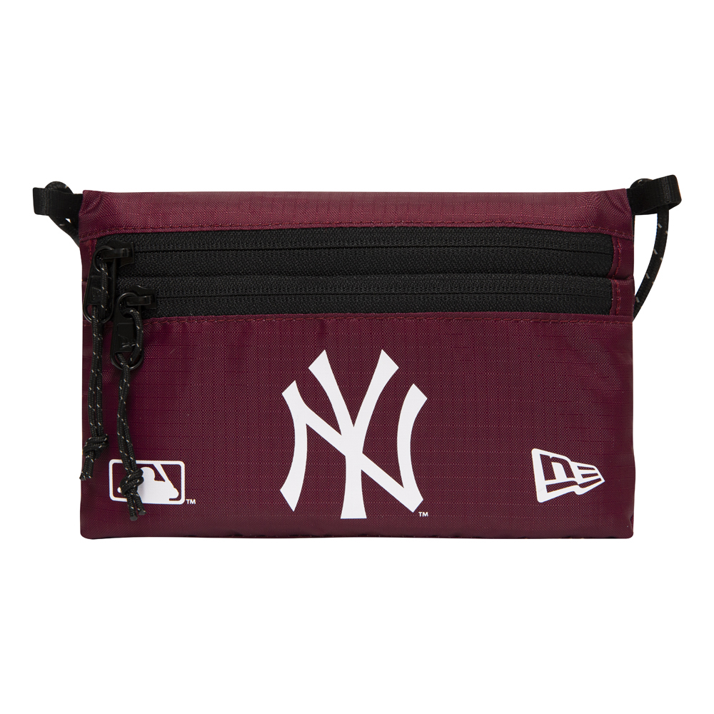 New York Yankees – Mini-Sacoche-Schultertasche in Rot