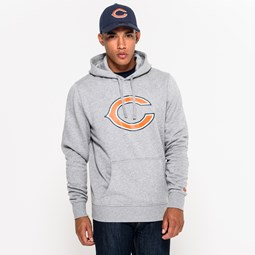 Chicago Bears Team Logo Grey Pullover Hoodie